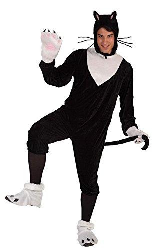 Imagen de atosa  disfraz de gato para hombre, talla xl 5892