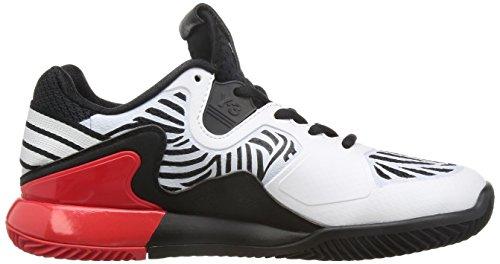 adidas Adizero Y3 2016, Chaussures de Tennis Homme Multicolore (Core Black/White/Red)