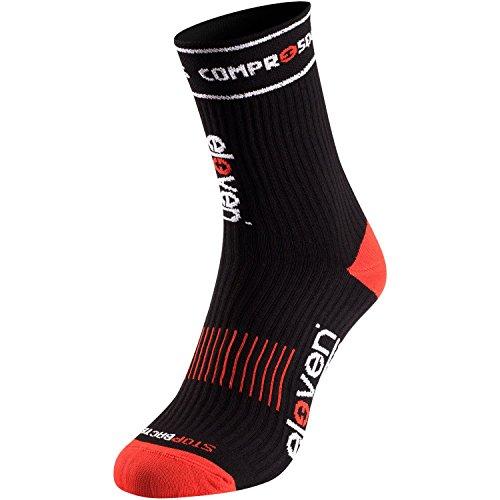 ocke | Kompressionssocken | Laufsocken | Compression Socks | Sportsocke | Damen | Herren zum Radfahren, Laufen, Triathlon, Running und Wandern (Schwarz, S (EU36-38)) ()