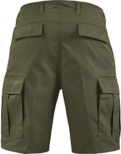 Kurze Bermuda Shorts US Army Ranger Feldhose Arbeitshose verschiedene Farben S - XXXL Oliv
