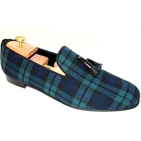 St.Ozzy Andrew blackwatch Classic loafer