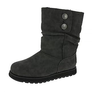 Skechers Women's Keepsakes Leatherette Slouch Boots 6