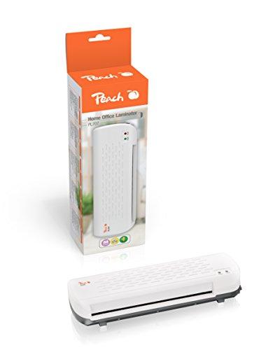Peach PL707 Heimbüro Laminiergerät DIN-A4, in wenigen Minuten startklar, geeignet für handelsübliche Folien, 1½ Seiten pro Minute, inkl. 10 Laminierfolien