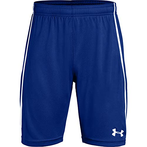 Under Armour Jungen Youth Maquina 2.0 Shorts, Royal (400)/White, Jugend Small (Under Armour-jugend Jungen)