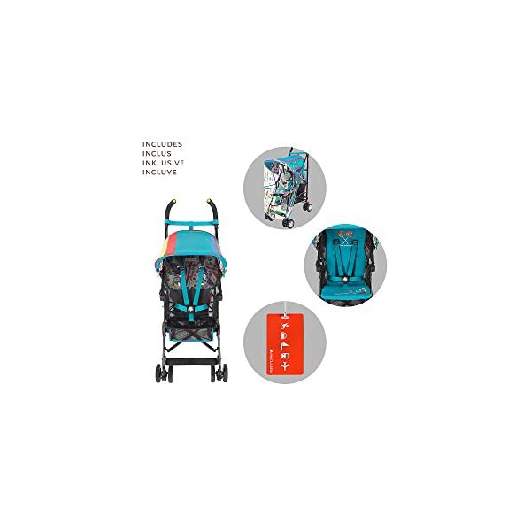 Maclaren Dylan's Candy Bar Volo Stroller - super lightweight, compact Maclaren Basic weight of 3.3kg/7.2lb; ideal for children 6 months and up to 25kg/55lb Maclaren is the only brand to offer a sovereign lifetime warranty Extendable upf 50+ sun canopy and built-in sun visor 4