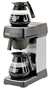 Novo F454 Coffee Machine, Manual water fill for Hot Plates