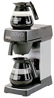 Novo F454 Coffee Machine, Manual water fill for Hot Plates from Bravilor Bonamat