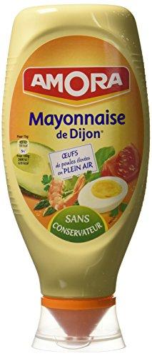 Amora Mayonnaise de Dijon Nature Flacon Souple 710 g - Lot de 3