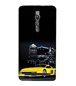 ifasho Designer Phone Back Case Cover Asus Zenfone 2 ZE551ML ( DJ Violin Piano Drum Musical )