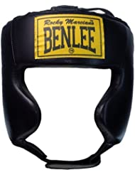 Benlee Rocky Marciano Tyson - Casco protector para boxeo rojo rojo Talla:small/medium