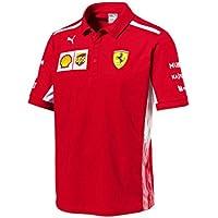Scuderia Ferrari F1 Racing SF Team Puma Polo Camisa Rojo Oficial 2018