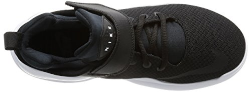 Nike Wmns Nike Kwazi, espadrilles de basket-ball femme Noir / Noir-blanc