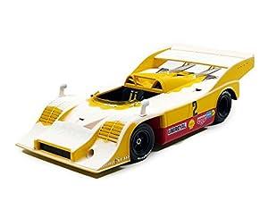 Minichamps 155736592-Porsche 917/10-Nurburgring 1973-Escala 1/18-Amarillo/Rojo