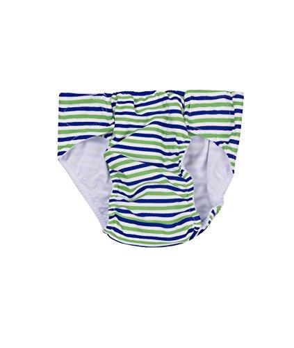 Steiff Collection Jungen Badehose Schwimmwindel 6837730, Mehrfarbig (y/d Stripe 0001), 98