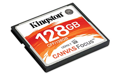 Kingston canvas focus schede compactflash 128 gb
