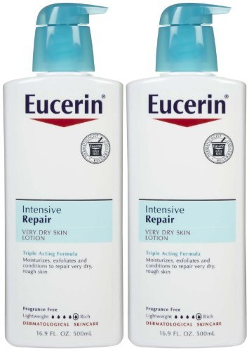 Eucerin Plus Dry Skin Therapy Intensive Repair Enriched Lotion 16.90 oz by Eucerin