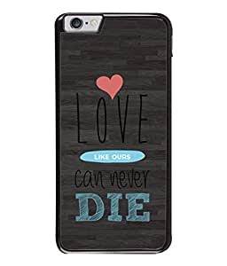 FUSON Designer Back Case Cover for Apple iPhone 6S (Hearts Feeling Loved With Each Other Valentine Day)