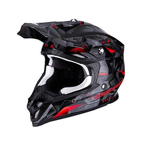 SCORPION 46 - 270 - 163 - 03 vx-16 Air punch-black-silver-red s