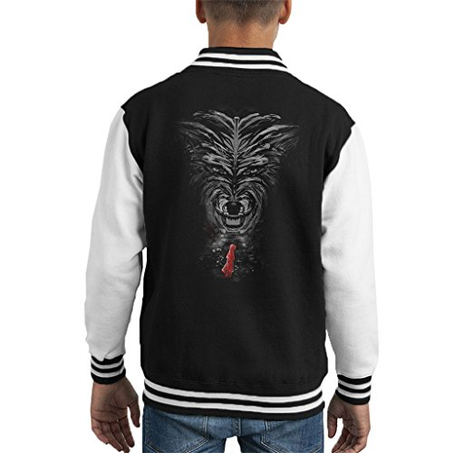 Little Red Riding Hood Big Bad Wolf Kid's Varsity Jacket Little Red Riding Hood-big Bad Wolf