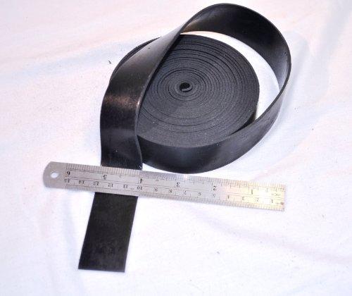 Gummistreifen 30 mm x 2 mm x 5 m, SOLID RUBBER