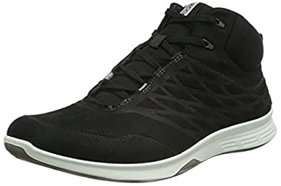 Ecco Exceed, Chaussures Multisport Outdoor Femme, Noir (BLACK02001), 41 EU