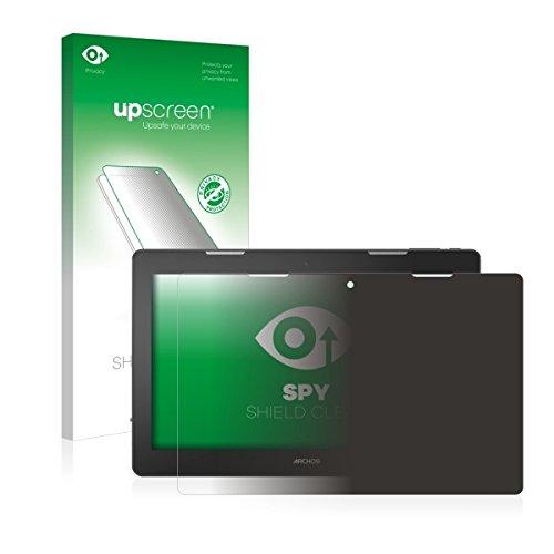upscreen Spy Shield Clear Blickschutzfolie / Privacy für Archos 133 Oxygen (Sichtschutz ab 30°, Kratzschutz, selbstklebend)