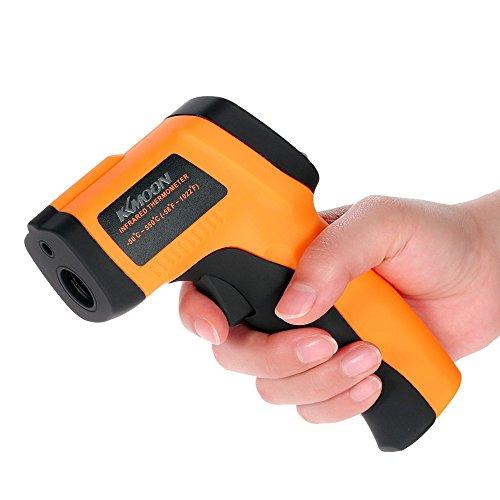 Preisvergleich Produktbild KKmoon Berührungslosen Infrarot Thermometer / IR Digital Thermometer Laser / -50  bis 550  (-58 ~ 716 ° F)