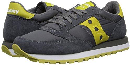 Sneakers uomo Saucony Jazz Original - Charcoal/Green Charcoal green Toma De La Venta Barata T5yFSvMB