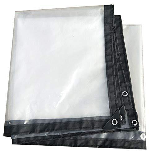 Film résistant d'isolation de serre résistant à la déchirure imperméable extérieur transparent de bâche épaisse transparente de parasol (taille : 5x5m)
