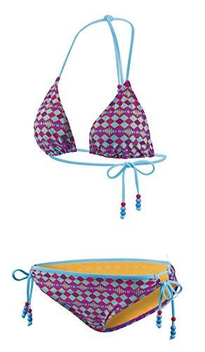 Beco Damen Tiangel B C-Cup Set Zweiteiliger Bikini Mehrfarbig Badeanzug Bademode, 38