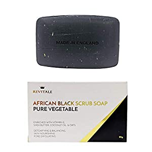 Revitale African Black Natural Oat Scrub Soap – Verdura pura