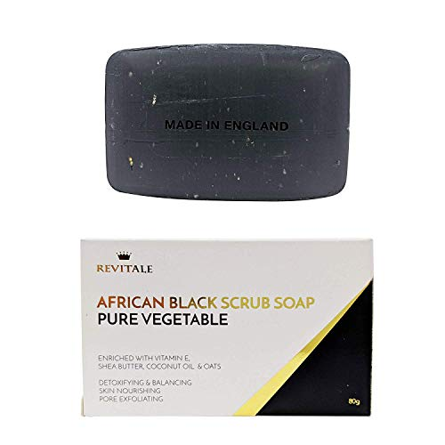 Revitale African Black Natural Oat Scrub Soap - Verdura