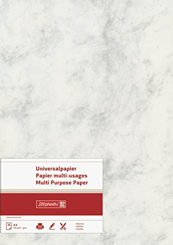 brunnen-105141180-universalpapier-multifunktionspapier-marmor-a4-120-g-m-35-blatt-marmoriert-grau