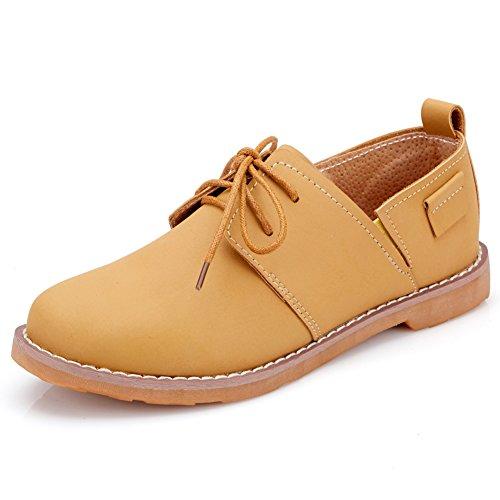 Chaussures occasionnelles de la sangle ressort avec tête ronde/Chaussures plates A