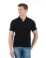 Indian Terrain Mens Solid Regular Fit T-Shirt (ITA17TSK328-8907633779179_Black_2XL)