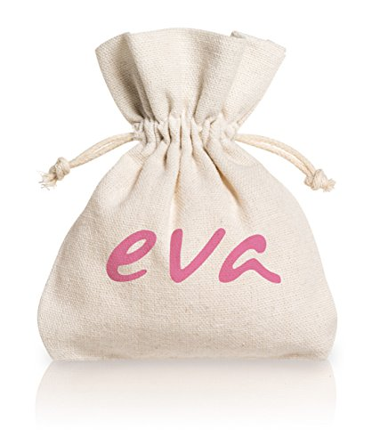 Eva - Kit S+L mit 2 Super-Soft Menstruationstassen + Desinfektionsspray - 2 Farben - MADE IN ITALY (Rose) - 5