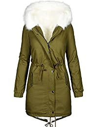 Golden Brands Selection Warme Damen Winter Jacke Winterjacke Parka  Teddyfell gefüttert Mantel B432 2be3c17ee0