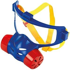 Theo Klein-8930 Máscara de protección de los bomberos, juguete, Multicolor (8930)