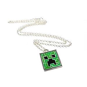 Minecraft – Creeper Anhänger mit Kette