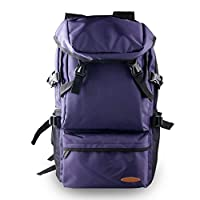 CZLSD Large Outdoor Knapsack Backpack Female Large Capacity Hiking Rucksack Male Outdoor Mountaineering Bag Luggage Travel Ultra Light School Bag(purple)