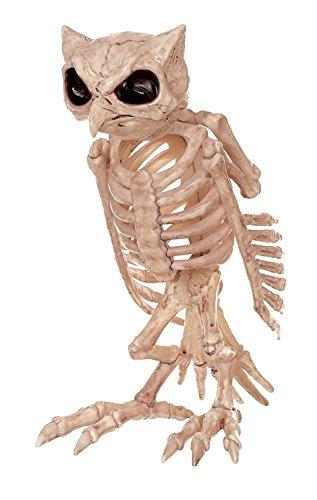 WSJDE Fantasy Knochen Skelett Owl Home Halloween Party Dekoration