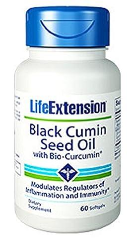 Black Cumin Seed Oil with BioCurcumin 60 softgels