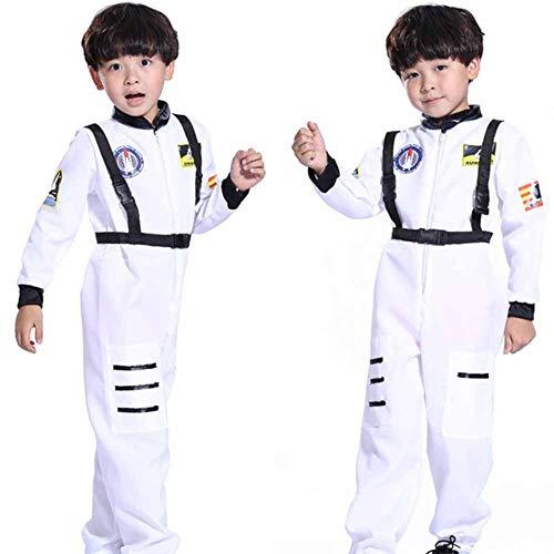 Kostüm Piloten Männliche - GUAN Halloween Cosplay Kindertag Performance Kostüme Astronaut Pilot Kinder Raumanzug