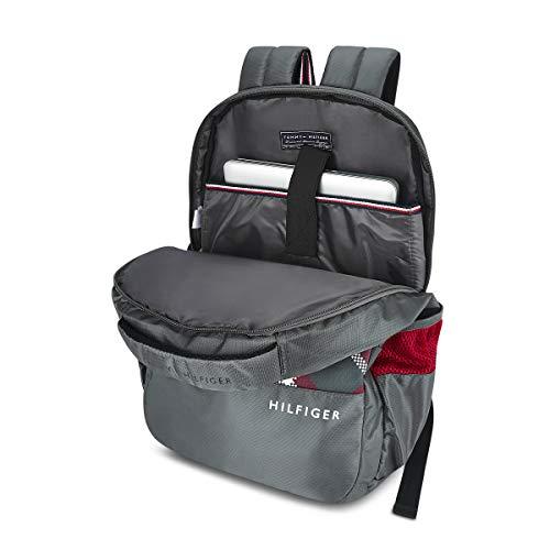 Tommy Hilfiger Alps 29 Ltrs Grey Laptop Backpack (TH/ALPSLAP07) Image 4