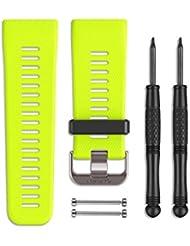 Garmin Wechselarmband für vívoactive HR - gelb, Silikon, Regular