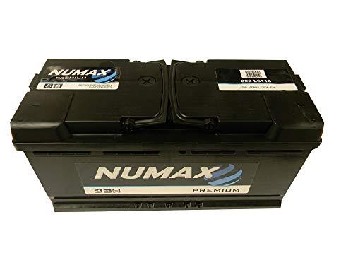 020 Numax Auto Batteria 12V 110Ah