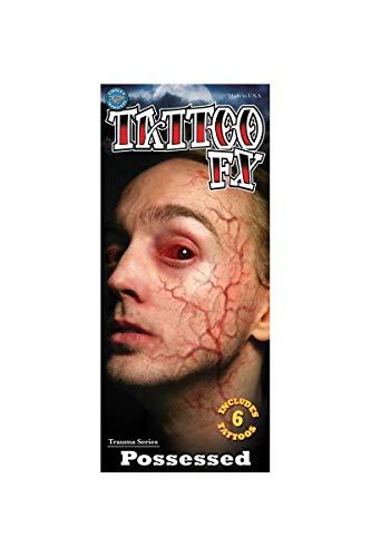Halloween-make-up-fee (Tatto FX Klebe-Tattoo