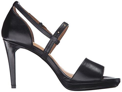 Calvin Klein Pianna Leder Sandale Black