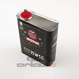 Arlows 4 Liter Motul Classic 15w50 Teilsyntetisches Motor Öl für Oldtimer/Historische Fahrzeuge