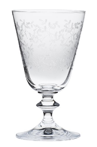 Bohemia Cristal 093 006 043 Weinkelche ca. 260 ml aus Kristallglas 6er Set Provence